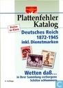 Plattenfehler Katalog Deutsches Reich 1872-1945