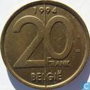 Belgium 20 francs 1994 (NLD)