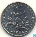 Frankreich 1 Franc 1964