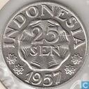 Indonesië 25 sen 1957