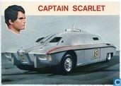 Captain Scarlet met zijn veiligheidsvoertuig