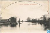 De Rijn in Holland bij Valkenburg