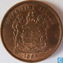 South Africa 1 cent 1996