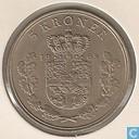 Denmark 5 kroner 1968