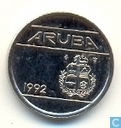Aruba 5 cents 1992