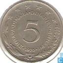 Yougoslavie 5 Dinara 1976