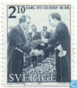 King Carl XVI Gustav-40th anniversary