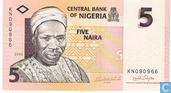 Nigeria 5 Naira 2006