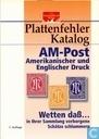 Plattenfehler Katalog AM-Post Amerikanischer und Englischer Druck