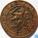 Curaçao 2½ cent 1944