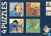 Tintin 4 puzzles