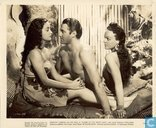 "Lobbycard ""Aloma of the South Seas"" met o.a. Dorothy Lamour & Jon Hall"