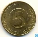Slovénie 5 tolarjev 1995
