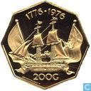 Netherlands Antilles guilder 200 1976
