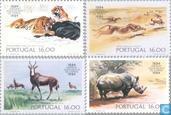 100 ans le Zoo de Lisbonne