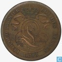 België 10 centimes 1833