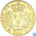 France 20 francs 1814 (Q)