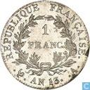 France 1 franc AN 13 (A)