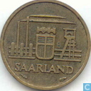 Munten - Saarland - Saarland 10 franken 1954