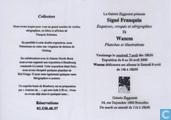 """Uitnodigingskaart expositie """"Signé Franquin"""""""