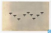 1. Formatievliegen