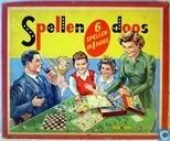 Spellendoos 6 spellen in 1 doos