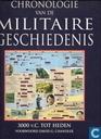 Chronologie van de militaire geschiedenis