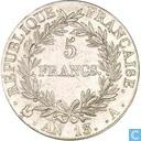 France 5 francs AN 13 (A)