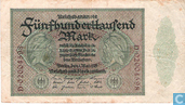 Allemagne 500.000 Mark 1923 (P88a2)