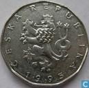République tchèque 2 Korun 1995