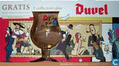 6-pack  met glas Duvel