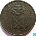 Dutch East Indies 2 ½ cent 1907
