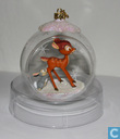 Bambi Crystal Scene Ornament