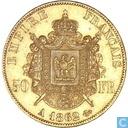 France 50 francs 1862 (A)