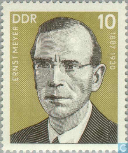 Briefmarken - DDR - Ernst Meyer Größeres Foto