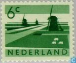Timbres-poste - Pays-Bas [NLD] - Paysages