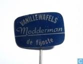 Modderman Vanillewafels De fijnste [blauw]