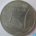 Italie 10 lire 1968