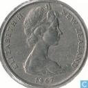 Neuseeland 20 Cent 1967
