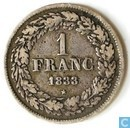 Belgien 1 Franc 1833 (coin allignement)
