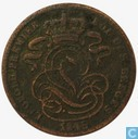 België 1 centime 1845