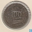 West African States 100 francs 1974