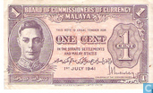 Malaya 1 Cent