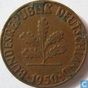 Germany 1 pfennig 1950 (F)