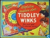 Woorden maken door Tiddley Winks