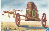 Griekse wagen uit de ouste tijden