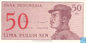 Indonesië 50 Sen 1964
