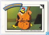 On first bass with Clara Cluck... / All fiddled out...