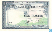 French Indo China Piastre 1 / 1 Dong