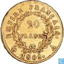 France 20 francs 1809 (A)
